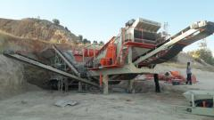 Mobile Stone Crushing and Screening Plant | PRO 180