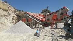 Pro 180 Series Mobile Crusher | For Gypsum Stone