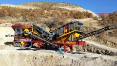 MCK-60 Mobile Primary Jaw Crusher | Dust Supression System