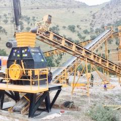 Commercial mobile crusher|1200 x 650 мм