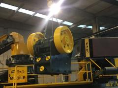 FABO CLK-60|Primary Jaw Crusher