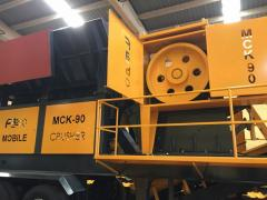 Primary Jaw Crusher CLK 90|FABO PRODUCTION