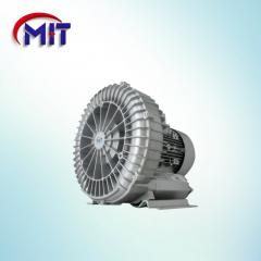 Electric motors with fan cooling