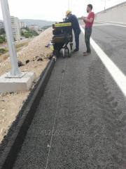 Seam chasers  for asphalt and concrete