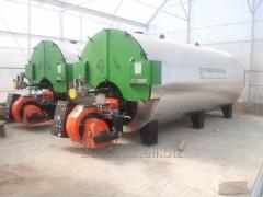 GAS or LIQUID FUEL FIRED GREENHOUSE BOILER