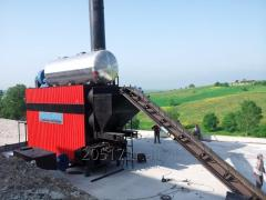STEAM BOILER - FULLY AUTOMATIC COAL &