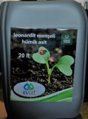 EVVEL Leonardit Menşeli Sıvı Hümik Asit