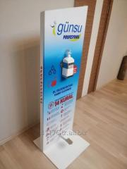 DeZenfektan standı / disinfectant stand