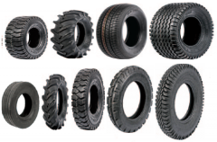 Rubber articles, for agriculture