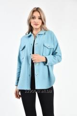 Women's shirt with double pocket flap