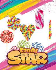 Candy Star Lollipop