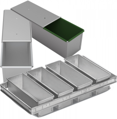 Toast pans for bakery production