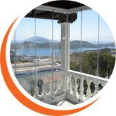 Glasstech cam balkon