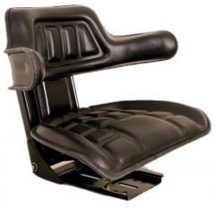 HG001- Kızaksız кolçaklı sabit koltuk