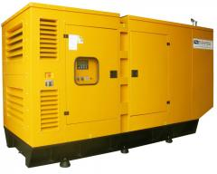 Capotes for diesel power plants