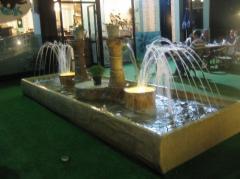 KentForm tasarım bahçe tipi dış mekan süs havuzu