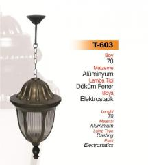 Wrought iron lamps