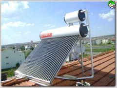 Güneş enerji sistemleri sıcak su