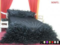 Serpil yatak örtüsü