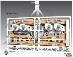 Geliştirilmiş Orta Boy Bakliyat Eleme Makinesi