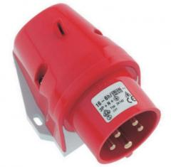 Conexiones eléctricas de desmonte, enchufes y