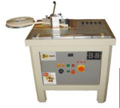 Machine tools for unwinding of edge tape