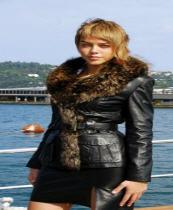 Bayan Deri Ceket Modeli 01