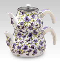 Çay Set (Lila)