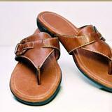 Suni Deriden Yapılmış Ayakkabılar , Terlikler ,