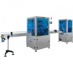 DL6 - 6 Pistonlu Otomatik Dolum Makinesi