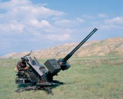 Dubbelloops kanon vliegtuigen