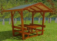 Çatılı Piknik Masası, Farklı Modelleri