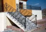 Ferforje merdiven küpeştesi