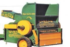Kombine harman makinası, Kayış kasnak veya traktör