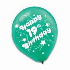 Printed balloon, balloon Party