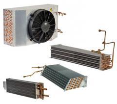 Araç klima - soğutma evaporatör ve kondenserleri
