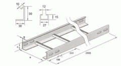 Hafif kablo merdivenleri