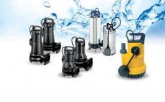 Kirli su için dalgıç pompalar