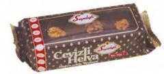 Halva with chocolate
