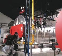 STEAM BOILER - GAS & LIQUID FUELED
