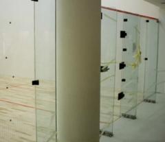 Panel Kaplamalı Squash Kortu