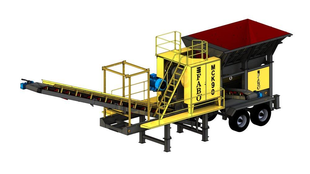 mobile_basalt_granite_quartz_crusher_plant