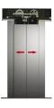 2 Panel Merkezi Kabin Kapısı