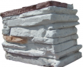 Articles made of artificial stone