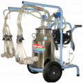 Çift sağim yağli paslanmaz güğümlü süt makinasi