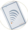 Readers of contactless cards