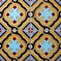 Endülüs Karosu 15x15 cm Kabartmalı Fayans