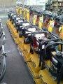 İleri -Geri Kompaktör Makinası  3 TONLUK / Reversible Plate Compactor Machine