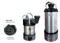Gömlekli Paslanmaz Çelik Gövdeli Atık Su Dalgıç Elektropomplar ASG/ASGM - V Tipi Fan
