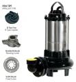Paslanmaz Çelik Gövdeli Parçalayıcı Atık Su Dalgıç Elektropomplar AST - B Tipi Fan